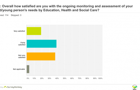 SEND Survey - Q10 Monitoring and Assessment graph