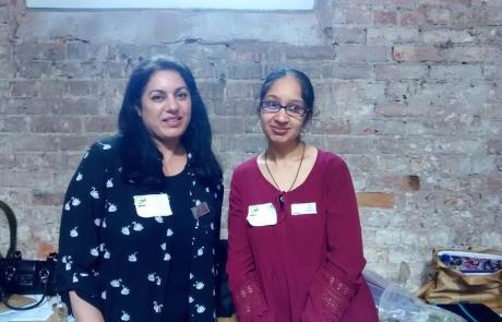 MPCF Members Gurmeet and Tara | MPCF Launch Event