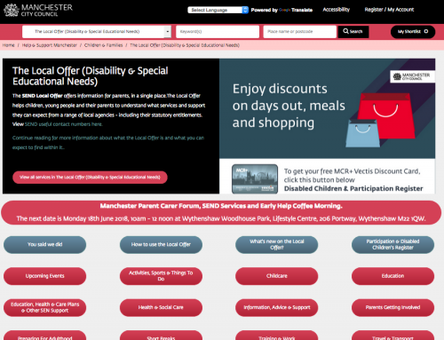 Your Voice: New Local Offer Homepage Layout