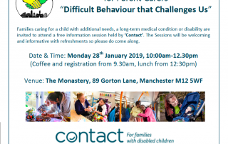 "Teaser for MPCF's ""Difficult Behaviour That Challenges Us"" course"