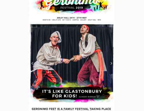 FREE Tickets to Geronimo Festival
