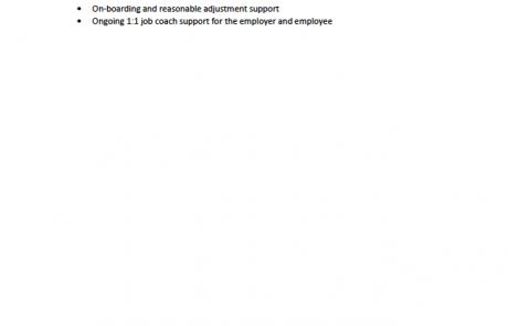 Page 3 of the AutoTrader Software Developer internship job advert