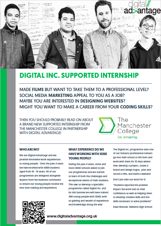 page 1 of the Digital Inc. flyer
