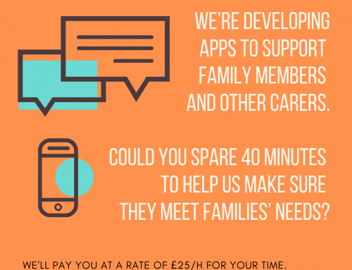Paid Involvement Opportunity for Parents and Carers