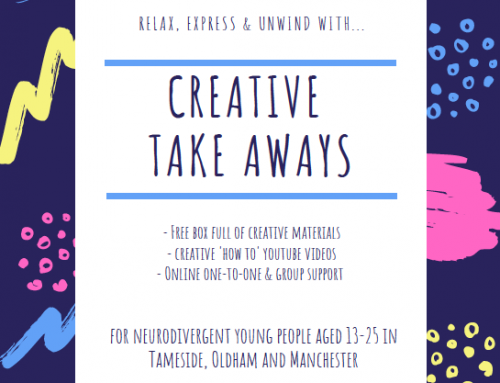"""""""Creative Take Aways"""" for Neurodivergent Young People"""