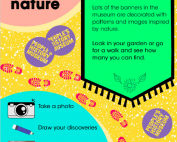 """Screenshot of the intro page from People's History Museum's """"I Spy ... Nature"""" resource"""