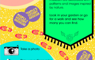 "Screenshot of the intro page from People's History Museum's ""I Spy ... Nature"" resource"