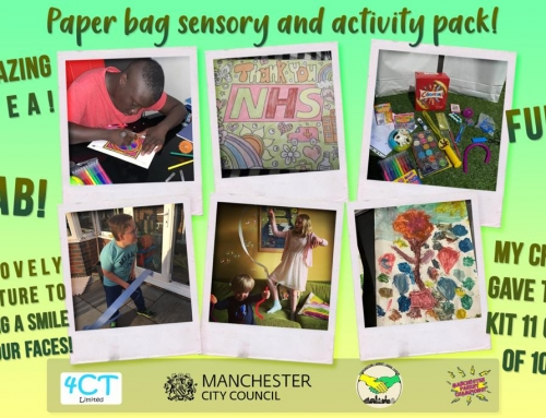 Success Story: Paperbag Sensory and Activity Packs
