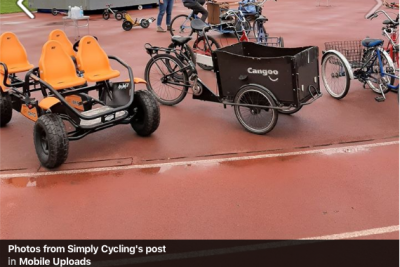 Some examples from Simply Cycling's range of bikes | photo credit: Simply Cycling on Facebook