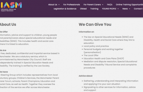 "A screenshot of IASM's ""About Us"" section as of 2020-08-11 at 16.43.59"
