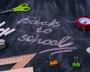 """A blackboard with the words """"Back to School"""" written on it 