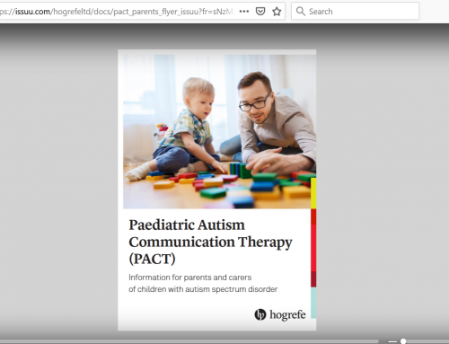 Parent/Carer Interview About PACT (Paediatric Autism Communication Therapy)