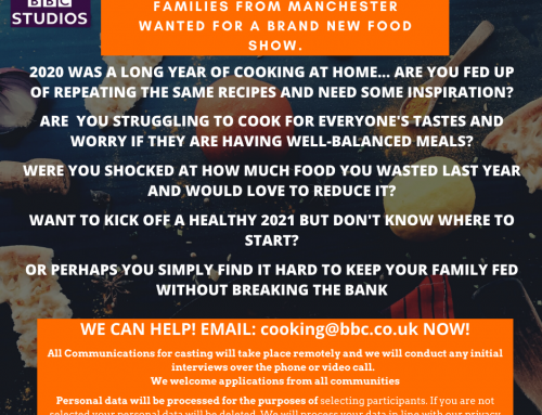 Families from Manchester Wanted for Cooking Show (BBC Studios)