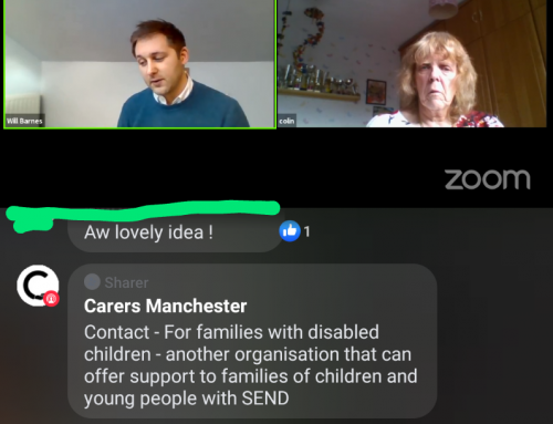 Live Chat with Carers Manchester