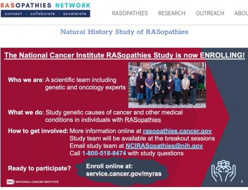 RASopathies Studies – International and Local