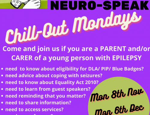 NEURO-SPEAK Chill-Out Mondays